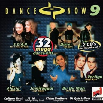 DANCE NOW 9 - 32 mega dance hits (2CD)