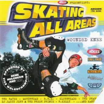 SKATING ALL AREAS-WOUNDED KNEE (2 CD)