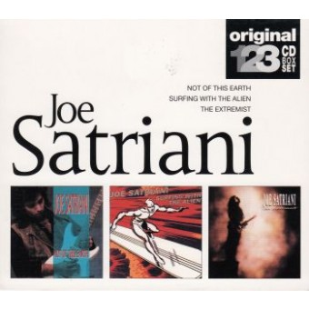 SATRIANI JOE: Triplepack (3CD)