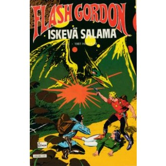 Flash Gordon- Iskevä salama 1/1981