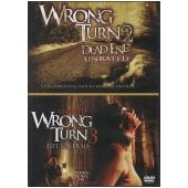 WRONG TURN 2 & 3   2-DVD