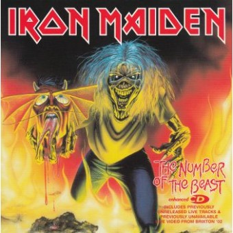 IRON MAIDEN: Number Of The Beast  Cds