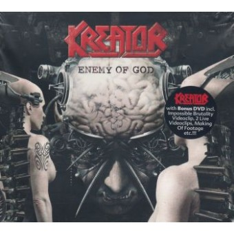 KREATOR: Enemy Of God + Bonus Dvd