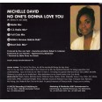 David Michelle:No One's Gonna Love You